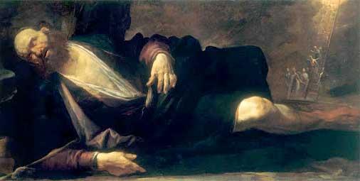 Иаков спит